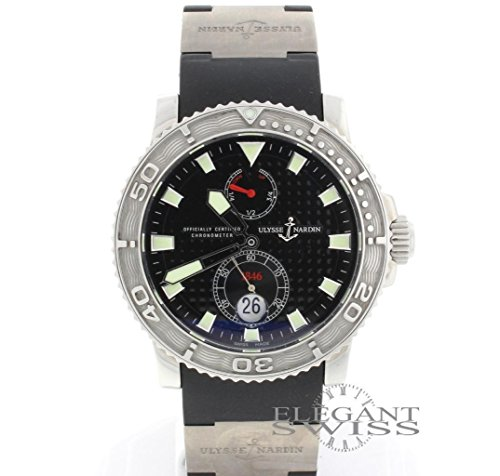 Ulysse-Nardin-MAXI-MARINE-DIVER-automatic-self-wind-mens-Watch-263-33-Certified-Pre-owned