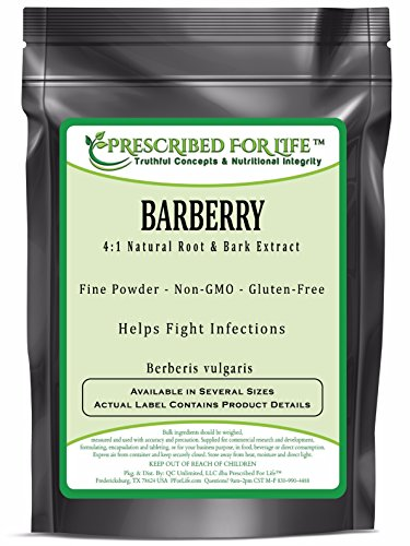 Barberry - 4:1 Natural Root & Bark Extract Powder (Berberis vulgaris), 4 oz