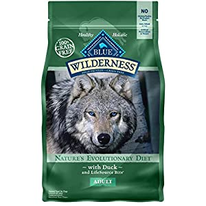 Blue Buffalo Wilderness High Protein Grain Free, Natural Adult Dry Dog Food, Duck 4.5-lb Click on image for further info.
