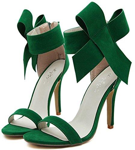 Sandalo Con Cinturino Alla Caviglia A Punta Smussata Con Cinturino Alla Caviglia E Cinturino Alla Caviglia