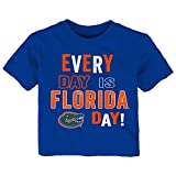 NCAA Florida Gators Infant Everyday Short Sleeve Tee, 12 Months, Royal