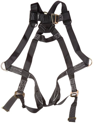 Elk River 57302 StageHand 3 D-Ring Harness with Mating Buckle and Fall Indicator, Fits Small to Large, Black by Elk River