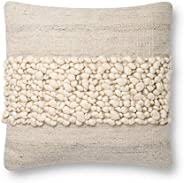 Justina Blakeney Decorative Pillow, Ivory/Grey