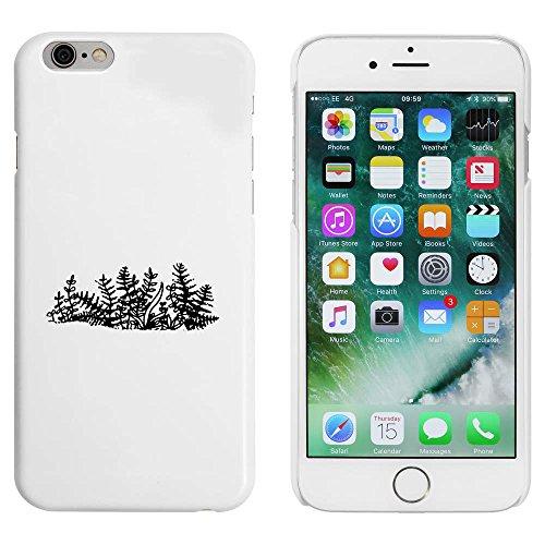 Blanc 'Fougère' étui / housse pour iPhone 6 & 6s (MC00086713)