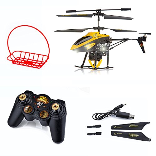 Spire Tech ST-488 3CH Gyro Remote Control Helicopter with Winch and Carry...