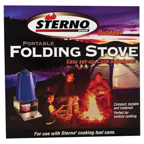 Sterno Single Burner Folding Stove – 50002 Review