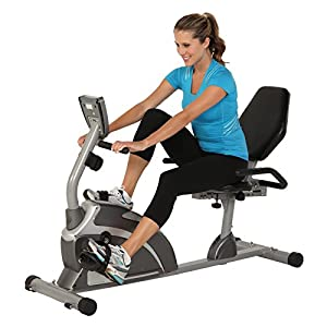 Exerpeutic 900XL Extended Capacity Recumbent Bike with Pulse from Paradigm Health and Wellness Inc