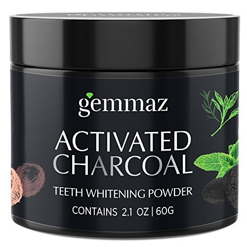 Organic Activated Charcoal Teeth Whitening Powder (60g), Carbon Coco teeth whitening Shell Premium Food Grade, Non Abrasive, Safe & Natural Tooth Whitener Candy Cane Mint Flavour by - Sonoma Usa California Red Wine