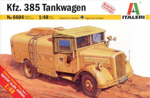 タミヤ イタレリ 1/48 ミリタリーシリーズ 6604 ドイツ Kfz.385 燃料補給車 37604 プラモデルの商品画像