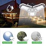100W Deformable LED Garage Light Ceiling Light Factory Warehouse Industrial Lighting, 10000 Lumen IP65 Waterproof… 10