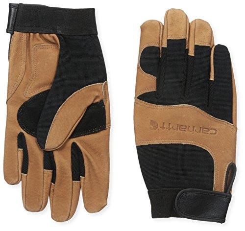 Carhartt Men's The Dex Ii Glove, Black/Barley, Medium ()
