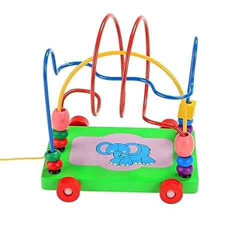 Teamyy Motorikschleife Perlen Labyrinth Kinder Spielzeug Bead Maze ...