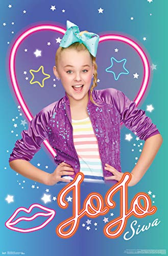 Trends International JoJo Siwa-Neon Clip Bundle Wall Poster, 22.375