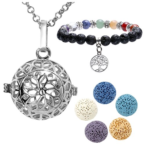 jovivi-mothers-day-gift-tree-of-life-7-chakras-stretch-bracelet-aromatherapy-essential-oil-diffuser-