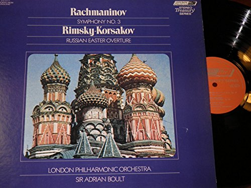 Rachmaninov: Symphony No. 3 in A Minor, Op. 44 & Rimsky-Korsakov: Russian Easter Overture, Op. 36 by LONDON
