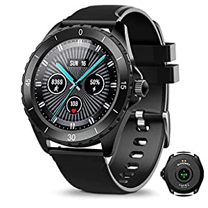 """ELEGIANT Smart Watch, 1.3"""" Fitness Tracker with Real-time Heart Rate Monitor, IP68 Waterproof, Pedometer with Sleep…"""