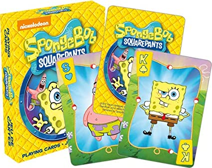 Aquarius Sponge Bob Square Pants Playing Cards Playing Cards