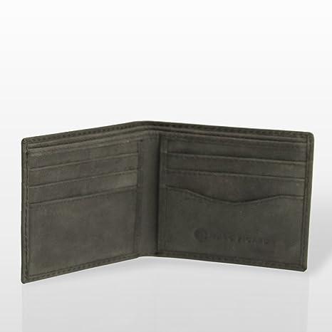Marc Picard hechas a mano Exclusivo Hombres Piel Monedero tarjeta monedero cartera monedero Tarjetas Funda Wallet