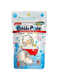 TruKid Bubble Podz, Natural Bubble Bath, Watermelon Scented 24ct. Safe, sulfate & chemical free, extra gentle bathing for sensitive skin