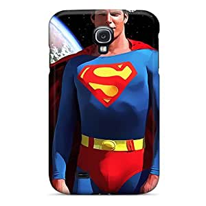 Durable Superman And Earth Back Case/cover For Galaxy S4