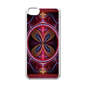 iPhone 5c Cell Phone Case White 3D Abstract Ring JNR2154893