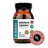 DR WAKDE'S® Gokshura Capsules (Tribulus terrestris) I 100% Herbal I 60 Veggie Capsules I Ayurvedic Supplement I FREE SHIPPING on multiples I Quantity Discounts I Same Day Dispatch