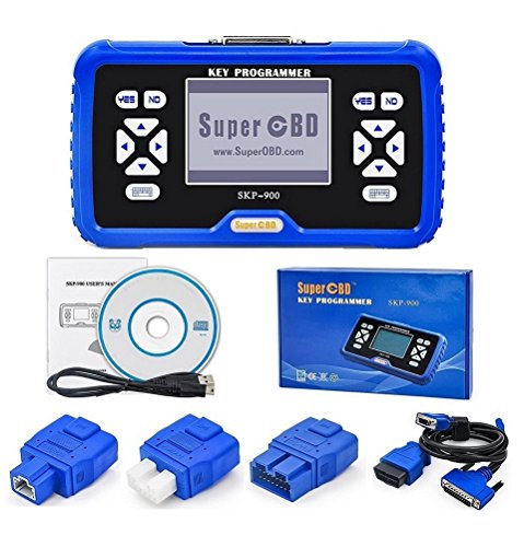 2017 SKP900 Car Key Programmer Tool SKP900 V4.5 SuperOBD SKP900 Key Programmer Immobilizer for Almost All Cars Unlimited Tokens Update Online free forever (SKP900 Key Programmer)