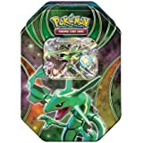 2016 Pokemon Trading Cards Best of EX Tins featuring Rayquaza Collector Tin