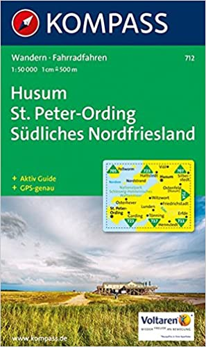 Sankt Peter Ording Karte.Husum Sankt Peter Ording 1 50 000 Wandern Rad Gps Genau