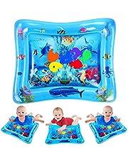 VATOS Wassermatte Baby, Spielmatte Aufblasbare Bauchzeit Wassermatte ist Perfektes Sensorisches Spielzeug für Baby Frühe Entwicklung Aktivitätszentren