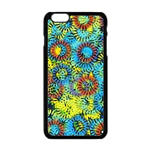 Abstract flowers painting Phone Case for iPhone 6 Plus 5.5""