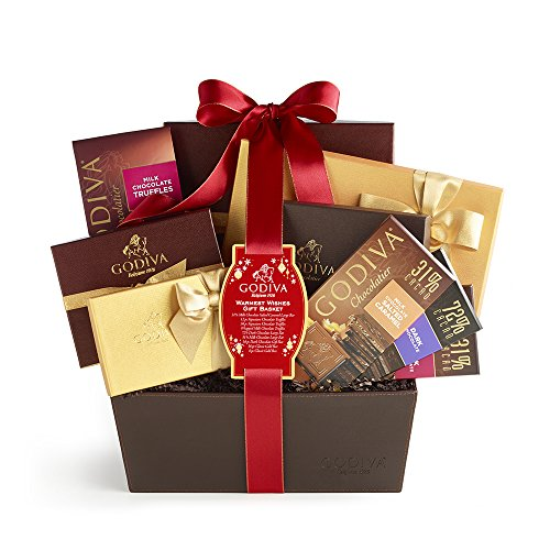 Godiva Chocolatier Warmest Wishes Chocolate Gift Basket, 31.9 Ounce