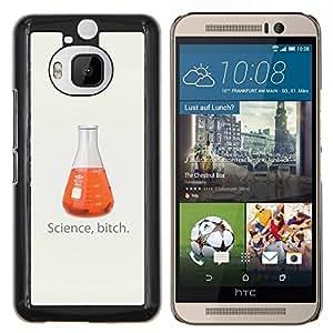 - Funny Science Bitch For HTC One M9+ / M9 PLUS Duro Snap en el tel???¡¯???€????€?????fono celular de la cubierta @ Cat Family