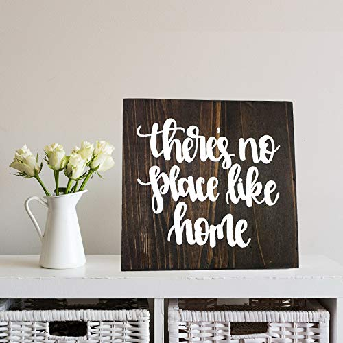 123RoyWarner Theres No Place Like Home Wooden Box Sign The Wizard of oz Quote