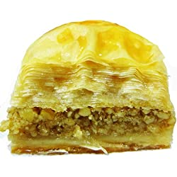 May's Middle Eastern Signature Pastries (BAKLAVA Walnut 12-Piece)
