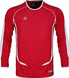Admiral Chili GK Jersey, Scarlet/White, Small