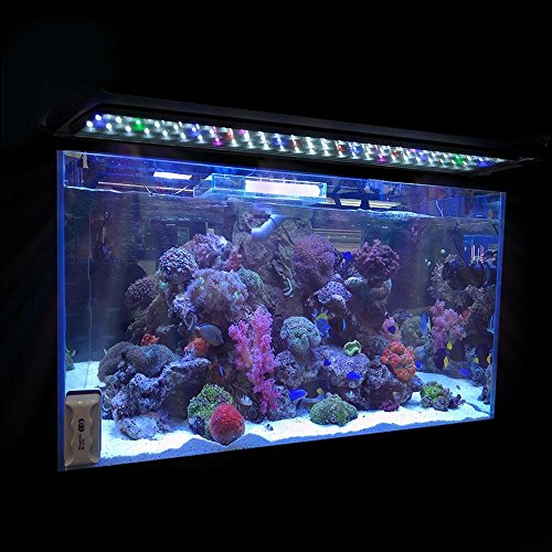 "0.5W 24""/36""/48"" Multi-Color LED Aquarium Light Full Spec Plant Fish Tank Lamp (24"" / 78 LEDs / Multi Color)"