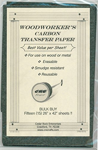 Carbon Transfer Tracing Woodworking Patterns product image