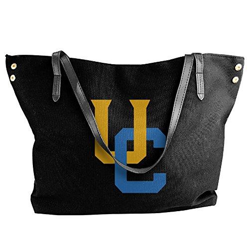 Interlocking UC Riverside Highlanders Logo Handbag Shoulder Bag For Women (Riverside Costume Shop)