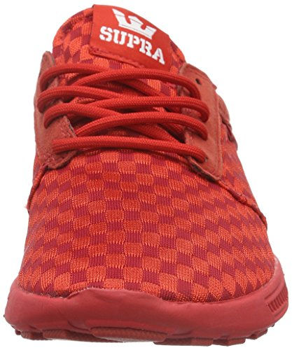 Supra Hammer Run, Unisex Adults' Trainers Red (Red - Red Red)