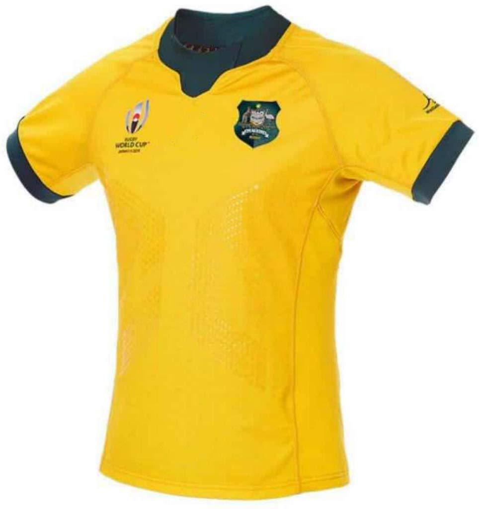 2019 Copa del Mundo Camiseta de Rugby Australia en casa/Viaje para ...