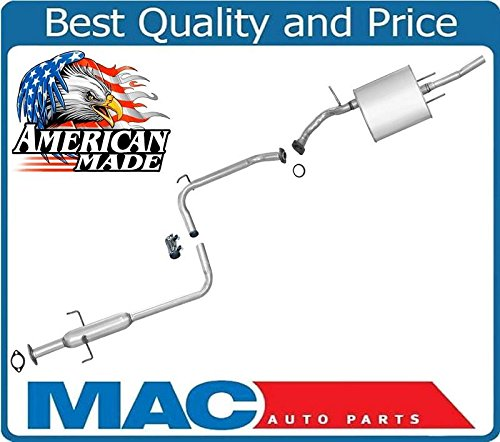 (100% All New For 89-1992 Geo Prizm 1.6L Muffler Exhaust Pipe System Made in USA)