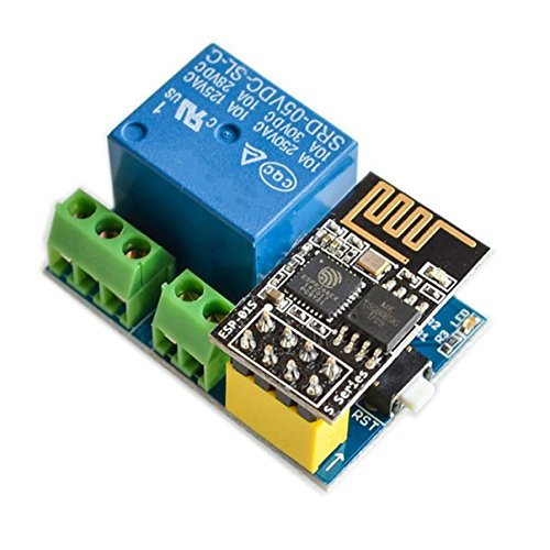 Price comparison product image SODIAL ESP8266 ESP-01S 5V WiFi Relay Module Things Smart Home Remote Control Switch for Arduino Phone APP ESP01S Wireless WIFI Module