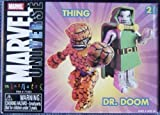 Thing & Dr. Doom by Minimates
