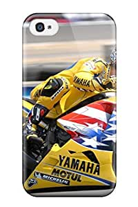 Colin Edwards Moto Gp Desktop Case Compatible With Iphone 4/4s/ Hot Protection Case