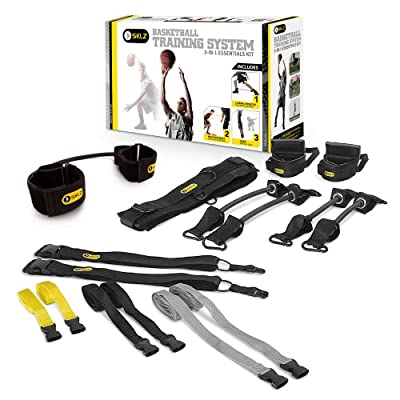 SAQ-BSKTK-02 SKLZ Essentials Kit Basketball 3-in-1 Training System