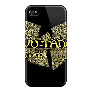 DaMMeke XzekNQR7019KnXXz Case For Iphone 4/4s With Nice Wu Tang Clan Appearance