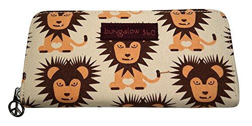 Bungalow 360 Zip Around Wallet - Lion