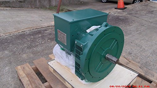 Generator Head 224E 50KW 1 Phase 2 Bearing 120/240 Volts, 1800 RPM