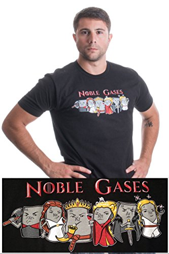 Noble Gases   Funny Science, Chemistry Periodic Table Humor Unisex T-shirt
